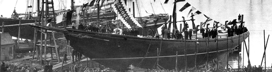 Bluenose launch in 1921
